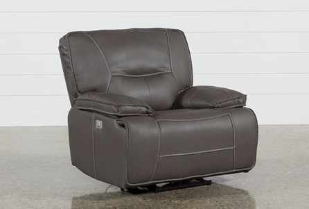 Display product reviews for MARCUS GREY RECLINER W/POWER HEADREST AND USB
