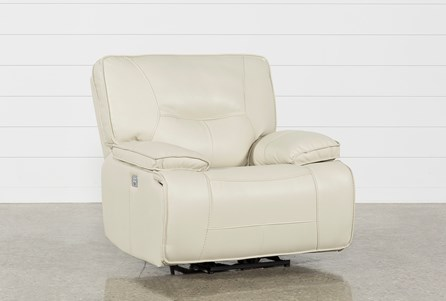 Display product reviews for MARCUS OYSTER POWER RECLINER W/POWER HEADREST AND USB