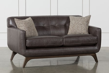 Display product reviews for COSETTE LEATHER LOVESEAT