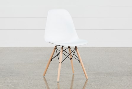 Display product reviews for COLE II WHITE SIDE CHAIR