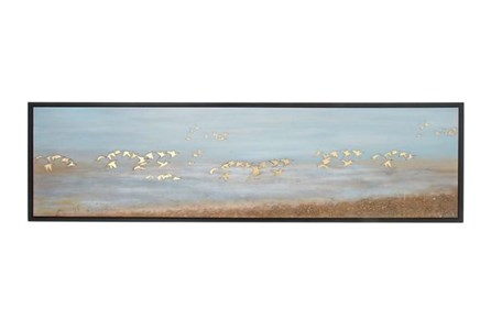 Display product reviews for PICTURE-BIRDS OVER WATER 71X19
