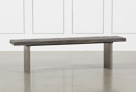Display product reviews for LOGAN DINING BENCH