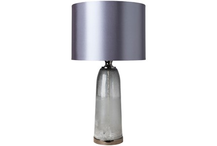 Display product reviews for TABLE LAMP-GREY GLASS