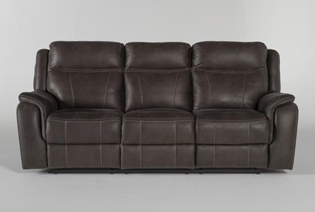 Display product reviews for GRIFFIN GREY POWER RECLINING SOFA