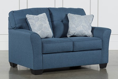 Display product reviews for JACOBY DENIM LOVESEAT
