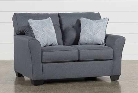 Display product reviews for JACOBY GUNMETAL LOVESEAT