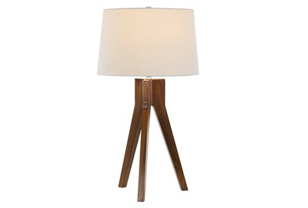 Display product reviews for TABLE LAMP-OAK TRIPOD