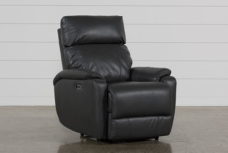 Display product reviews for CONNIE SMOKE POWER RECLINER WITH POWER HEADREST & USB
