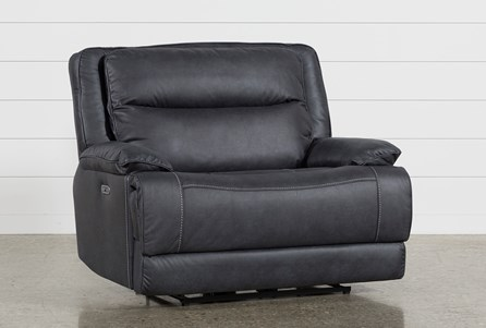 Display product reviews for GARLAND CHARCOAL CUDDLER POWER RECLINER WITH POWER HEADREST