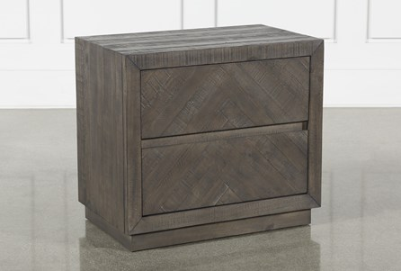 Display product reviews for HARRISON CHARCOAL NIGHTSTAND