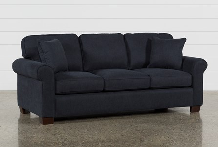 Display product reviews for MARGOT DENIM FULL SOFA SLEEPER