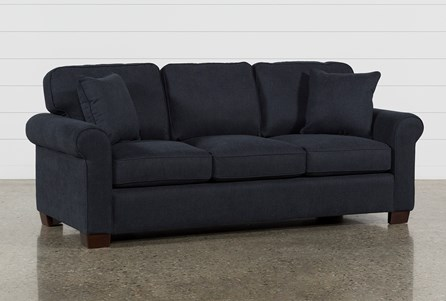 Display product reviews for MARGOT DENIM QUEEN SOFA SLEEPER