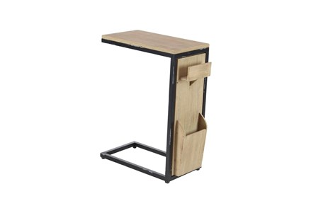 Display product reviews for WOOD AND METAL ARM TABLE WITH LETTERBOX