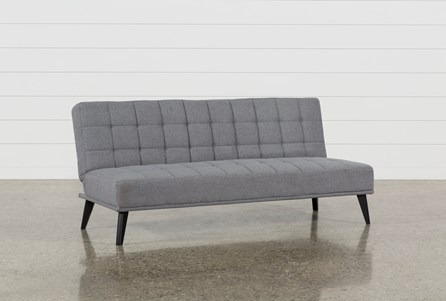 Display product reviews for BEA GREY CONVERTIBLE SOFA