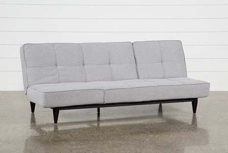 Display product reviews for PAIGE GREY CONVERTIBLE SOFA CHAISE SLEEPER