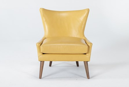 Display product reviews for TATE II LEATHER ACCENT CHAIR