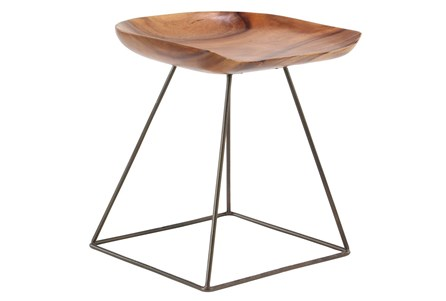 Display product reviews for OTB WOOD SQUARE STOOL