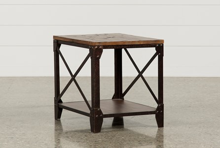 Display product reviews for MOUNTAINIER END TABLE