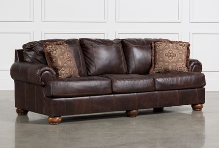 Display product reviews for AXIOM LEATHER SOFA
