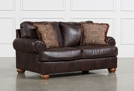 Display product reviews for AXIOM LEATHER LOVESEAT