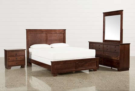 Display product reviews for KIT-MARCO QUEEN 4 PIECE BEDROOM SET