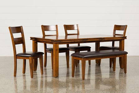 Display product reviews for KIT-LANCASTER 6 PIECE DINING SET