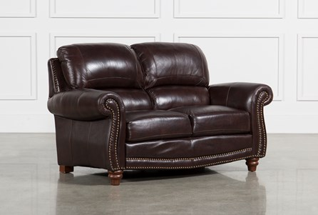 Display product reviews for BECKETT LEATHER LOVESEAT