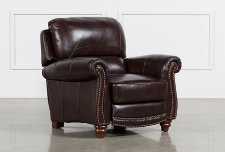 Display product reviews for BECKETT LEATHER PRESSBACK RECLINER
