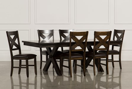 Display product reviews for KIT-PELENNOR 7 PIECE EXTENSION DINING SET