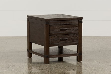 Display product reviews for LIVINGSTON END TABLE
