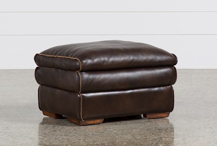 Display product reviews for WALTER LEATHER OTTOMAN