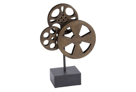Display product reviews for METAL MOVIE REEL RUST