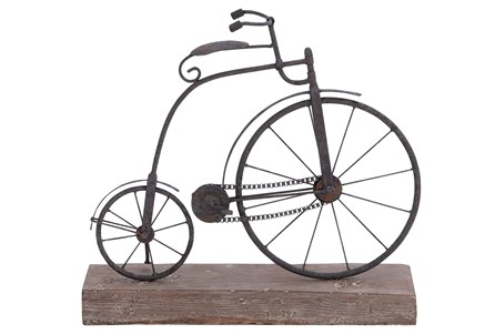 Display product reviews for METAL/WOOD BICYCLE