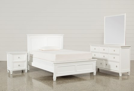 Display product reviews for KIT-ALBANY FULL 4 PIECE BEDROOM SET