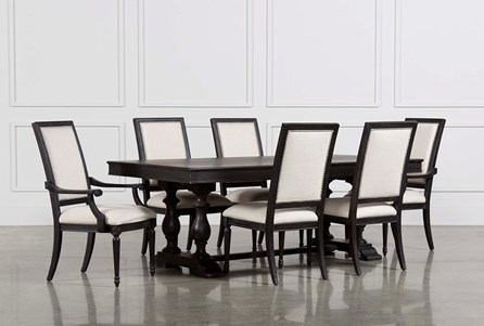 Display product reviews for KIT-CHAPLEAU 7 PIECE EXTENSION DINING SET