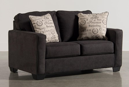 Display product reviews for ALENYA CHARCOAL LOVESEAT