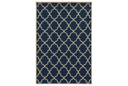 Display product reviews for 94X130 OUTDOOR RUG-MONTAUK NAVY