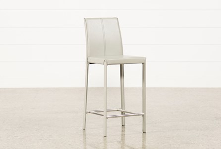 Display product reviews for RENATA 24 INCH GREY COUNTERSTOOL