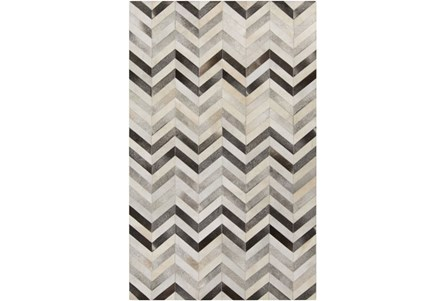 Display product reviews for 96X132 RUG-KENTON CHEVRON HIDE