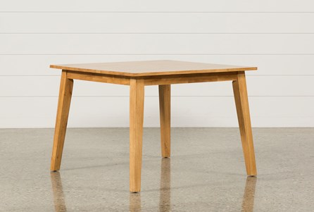 Display product reviews for SANDY HONEY SQUARE DINING TABLE