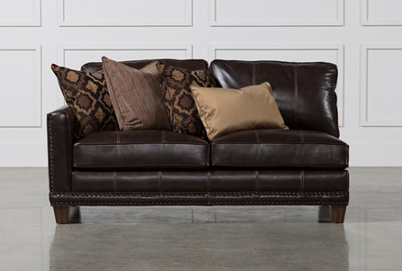 Display product reviews for BARNABY LEATHER LAF LOVESEAT