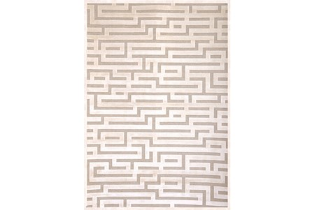Display product reviews for 63X90 RUG-MAZE IVORY