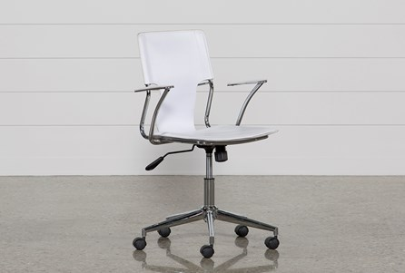 Display product reviews for MILEY WHITE OFFICE CHAIR