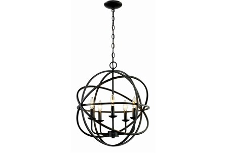 Display product reviews for CHANDELIER-ROSILYN BRONZE 5-LIGHT