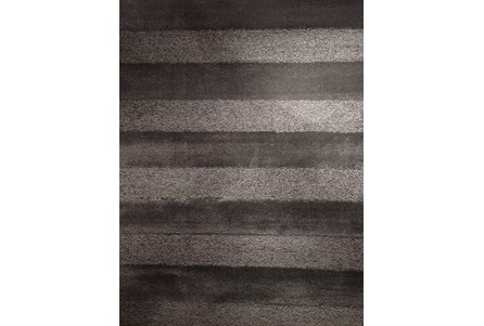 Display product reviews for 93X126 RUG-CHARCOAL STRIPE SHAG