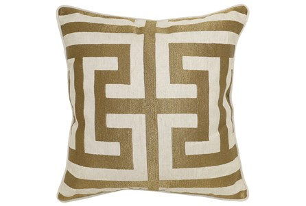 Display product reviews for ACCENT PILLOW-ESTATE BRONZE 22X22