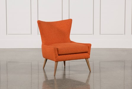 Display product reviews for TATE ORANGE ACCENT CHAIR
