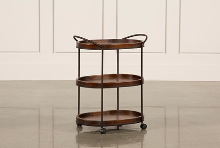 Display product reviews for 3 TIER METAL & WOOD CART