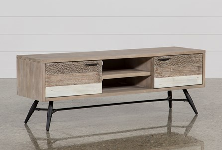 Natural Metal Tv Stands Living Spaces