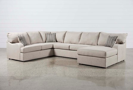 Display product reviews for KIT-MEYER 3 PIECE SECTIONAL W/RAF CHAISE